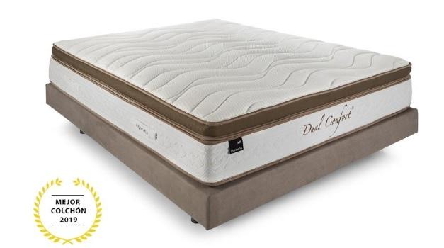 El mejor colchón fabricado en España: Colchón Ingravity Dual Confort