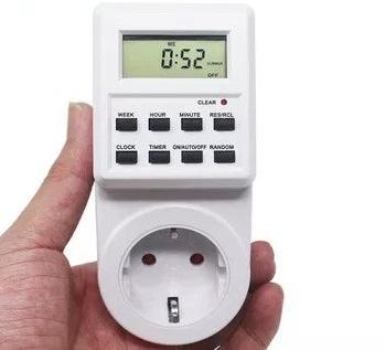 Temporizador interruptor electrodomésticos