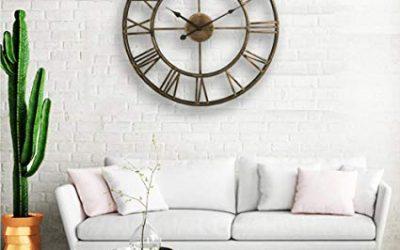 Relojes de pared para decorar la casa
