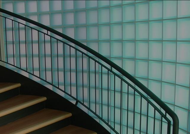 Nuevos ambientes con bloques de vidrio
