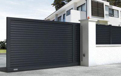 Tipos de puertas automáticas para fincas y garajes