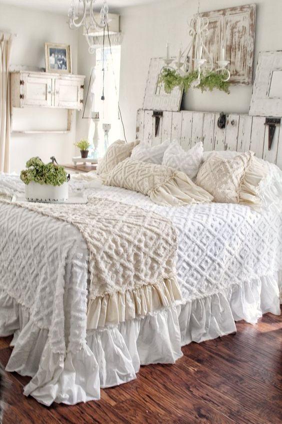 Decoración rústica dormitorio