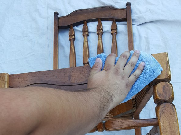 Tutotorial restaurar silla madera antigua paso 2
