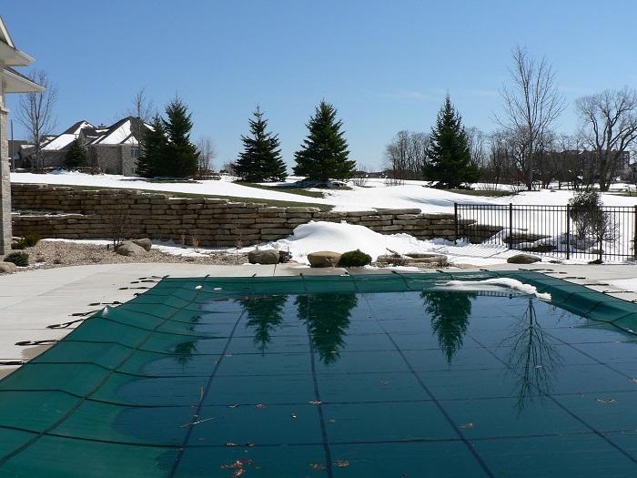 Proteger piscina invierno