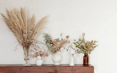 Cómo decorar la casa con flores secas