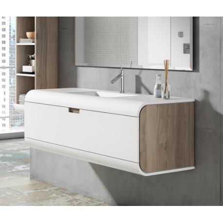 Muebles de baño forma redondeada 2