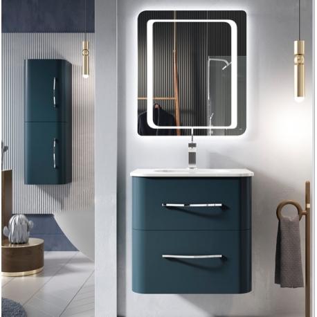 Muebles de baño forma redondeada