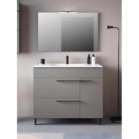 Muebles de baño gris