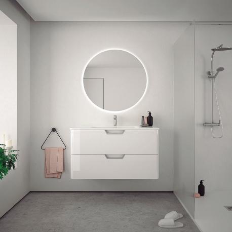 Muebles de baño blanco lacado