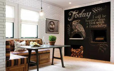 Paredes de Casa Pintadas con Pintura Chalk Paint o a la Tiza