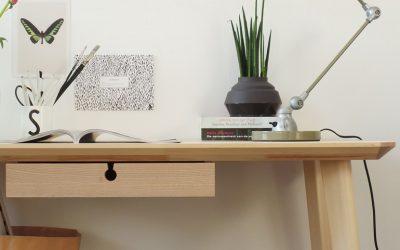 Lámparas de Escritorio para una Oficina en Casa de Diseño