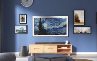Convierte tu salón en un museo con The Frame