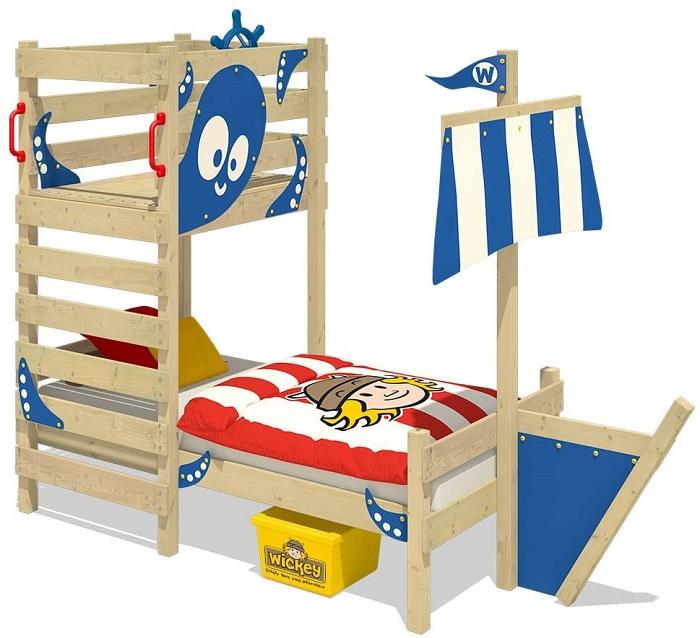 Cama infantil original barco pirata