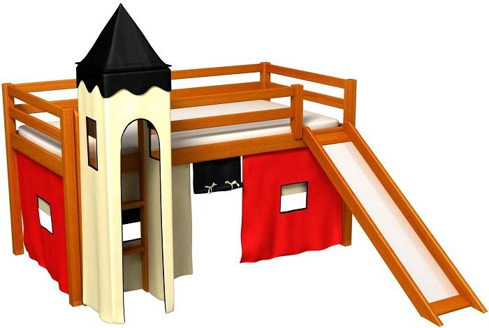Cama infantil original castillo