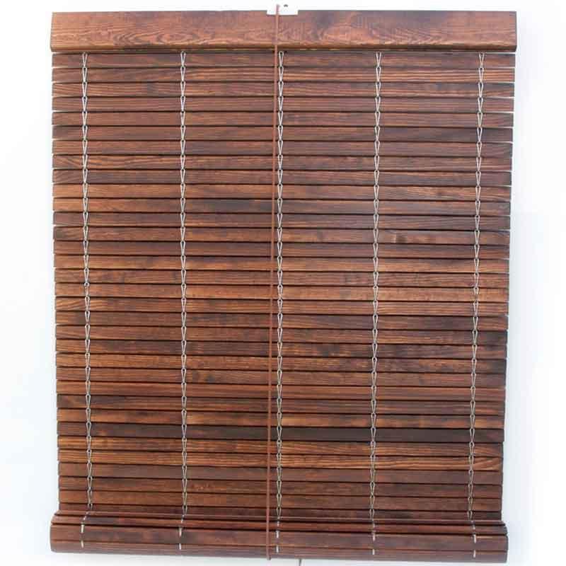 Persiana alicantina de PVC de madera