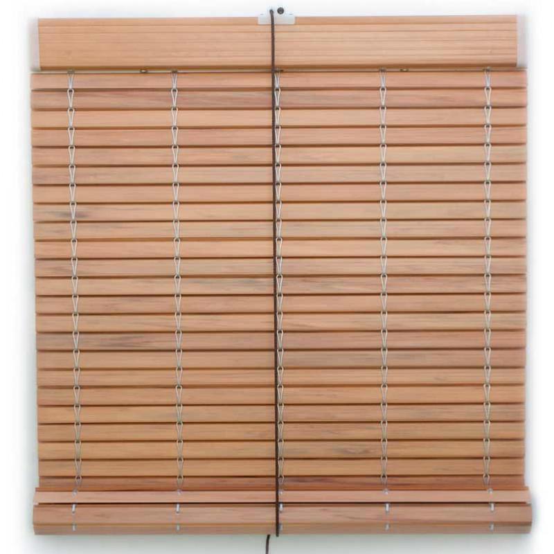Persiana alicantina de PVC imitación madera