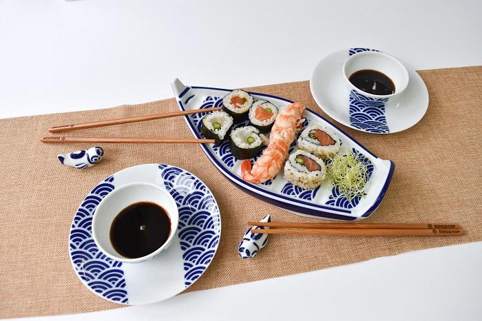 Vajilla Sargadelos Sushi