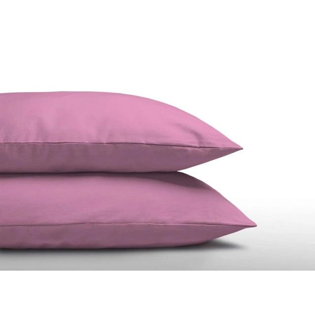 Funda almohada rosa