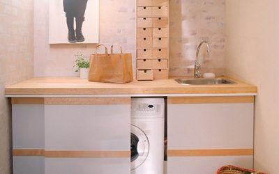 Consejos e ideas para que tu lavadora no afee tu cocina