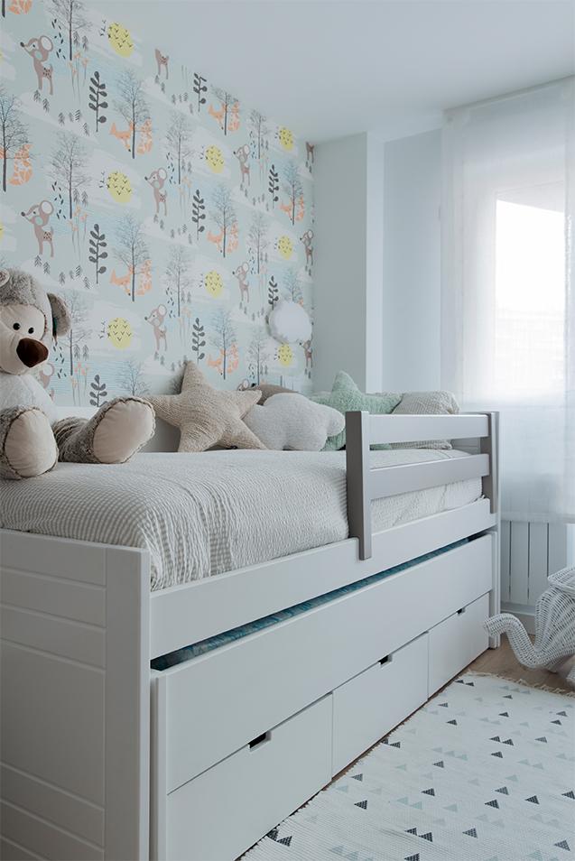 Dormitorio infantil bonito