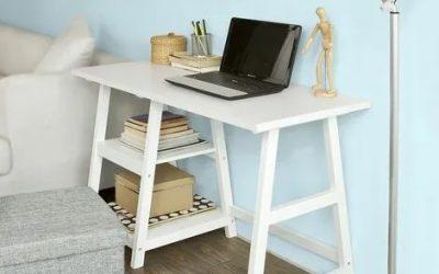 Mesas de escritorios versátiles que quedan bien en el salón o en el dormitorio