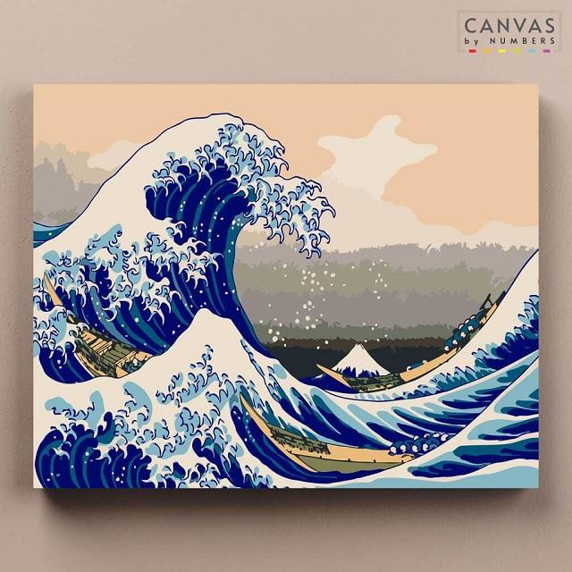 La gran ola de Hokusai