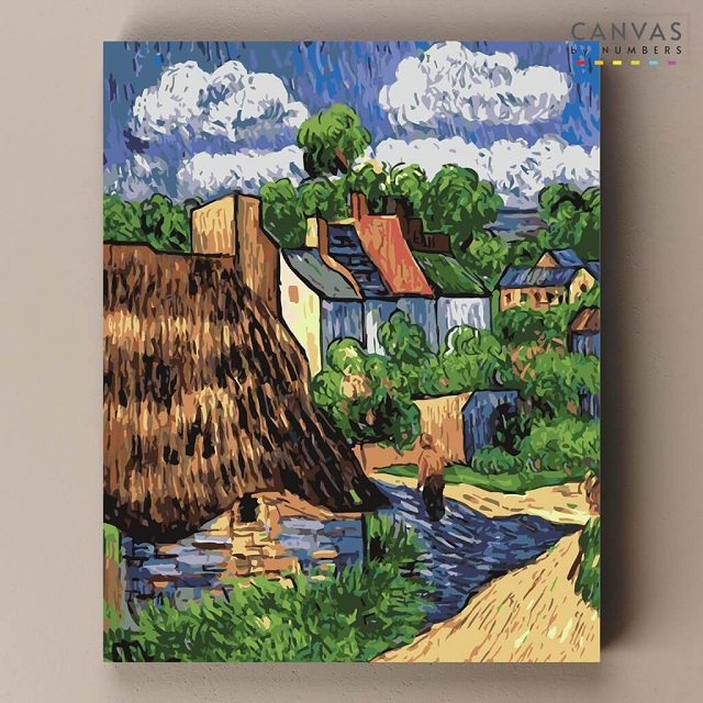 Houses in Auvers, Van Gogh