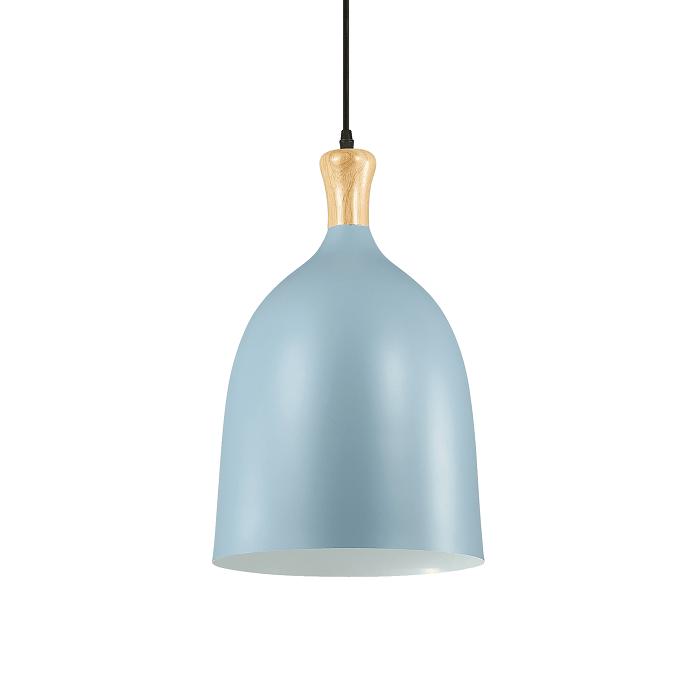 Lámpara moderna azul