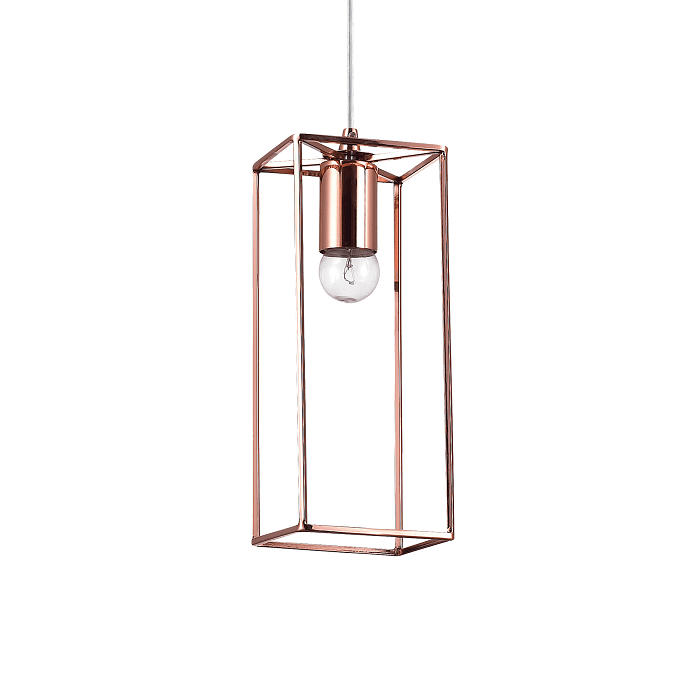 Lámpara moderna metal rosa