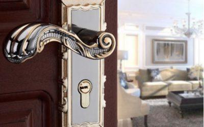 Elige la cerradura y la manilla según el estilo de tu casa