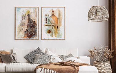 ¡Mira estos cuadros realistas para decorar tu casa!