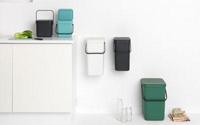 Brabantia: Cubos de diseño para clasificar y reciclar
