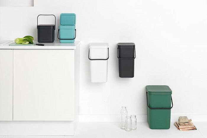 Cubos de basura bonitos