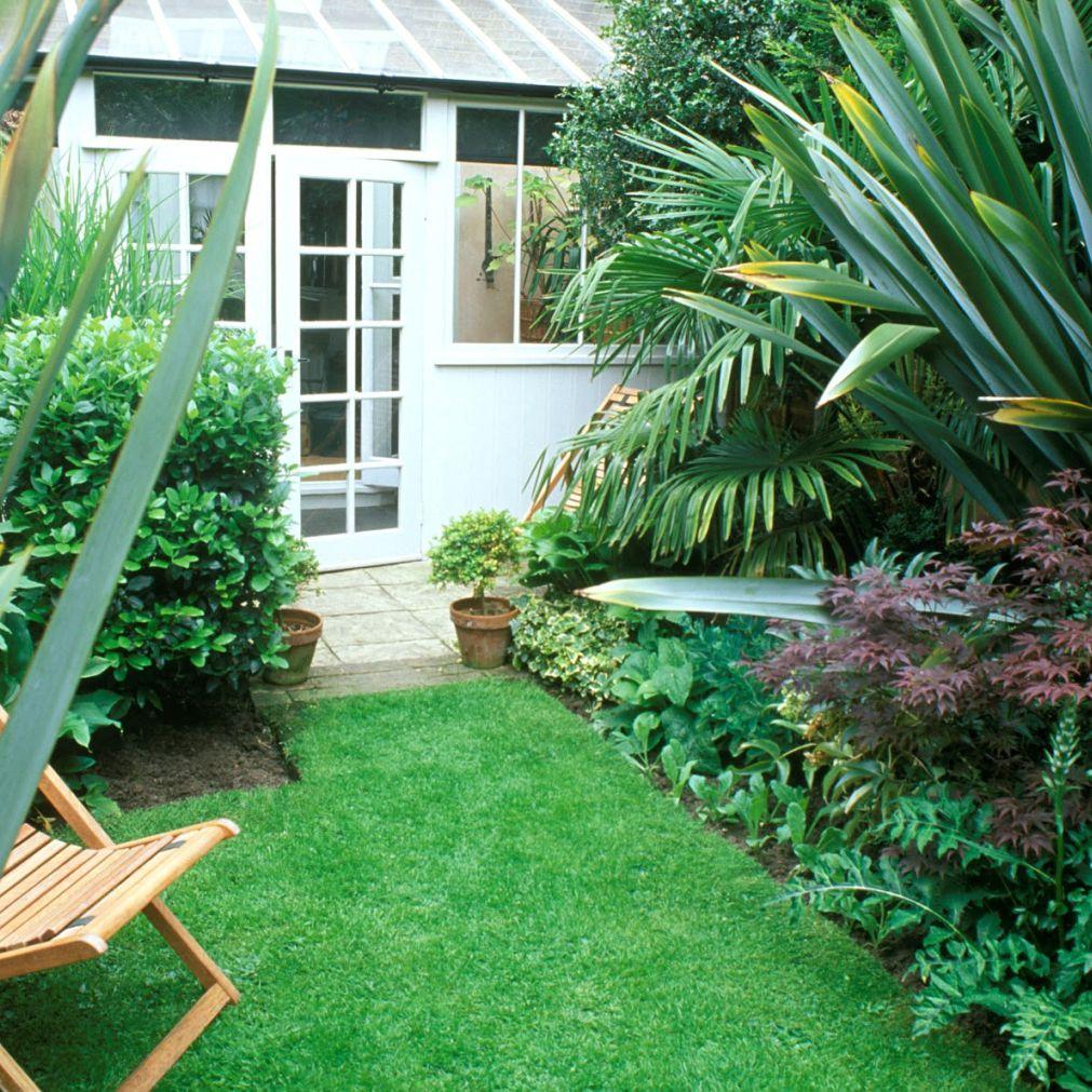 Jardín pequeño precioso