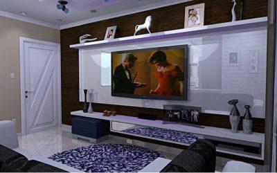 Aprovecha las ventajas de las luces LED en los muebles del salón